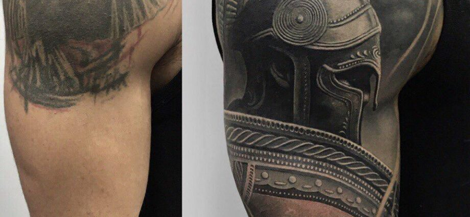 Skull Tattoos nähe Darmstadt
